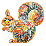 WITTY SQUIRREL - WOODEN JIGSAW PUZZLE