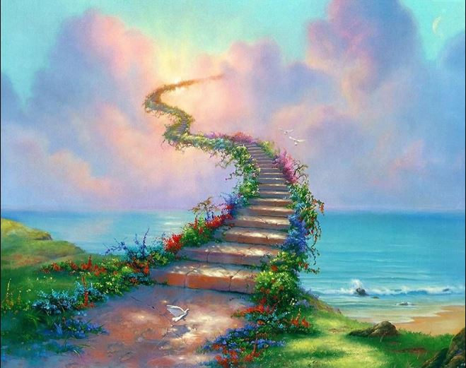 STAIRWAY TO HEAVEN - DIAMOND PAINTING KIT