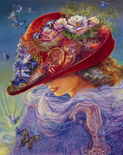 THE RED HAT - DIAMOND PAINTING KIT