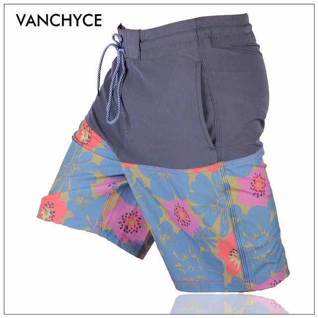 Men's VANCHYCE Summer Shorts Men Board Shorts Quick Dry