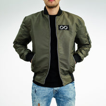 Load image into Gallery viewer, Brooks Reversible Bomberjacket Olive/Black