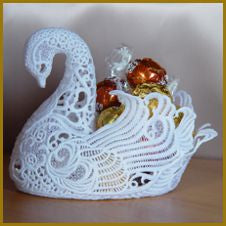 3D lace Swan & Specialty Lace
