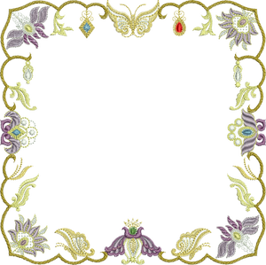 03 SM - Jewel Border Small