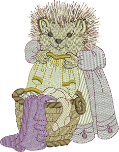 10 -  Woodland Treasures - Hattie Hedgehog