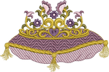 Fairy Titania`s Crown Embroidery Motif - 10 - Enchanted Fairy Treasures - by Sue Box