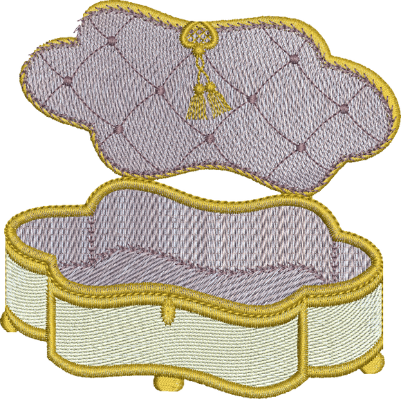 Empty Sewing Box Embroidery Motif -12 - Creative Little Homemakers by Sue Box