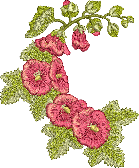 13 -  Traditional Homes and Gardens - Hollyhock Design