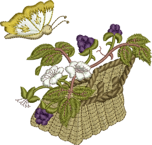 19 - Blackberry Basket