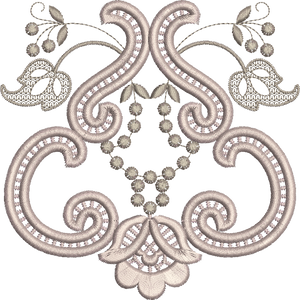 Cutwork Design Embroidery Motif - 20 -  Embroidery Inspirations - by Sue Box
