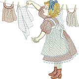 Dressmaker Kathleen Embroidery Motif - 20 - Creative Little Homemakers by Sue Box