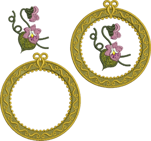 21 - Antique Circle Design Set