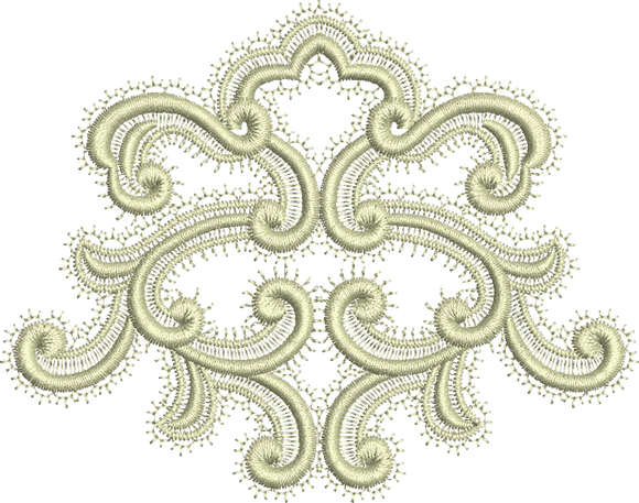 Oriel Embroidery Motif - 21 -  A Romantic Era - by Sue Box