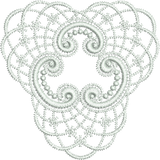 Lace Tamah Motif Embroidery Design - 21 - Just Lace - by Sue Box