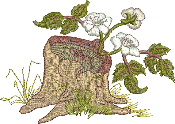 22 - Bramble Stump