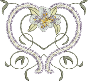 25 -  Embroidery Inspirations - Azalea Design