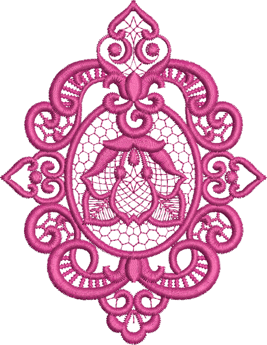 Venus Motif Embroidery Design - 25 -  A Romantic Era - by Sue Box