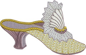 26 - Endearing Embroidery design by Sue Box - Slipper