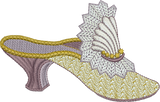 Slipper Embroidery Motif - 26 - Endearing Embroidery design by Sue Box