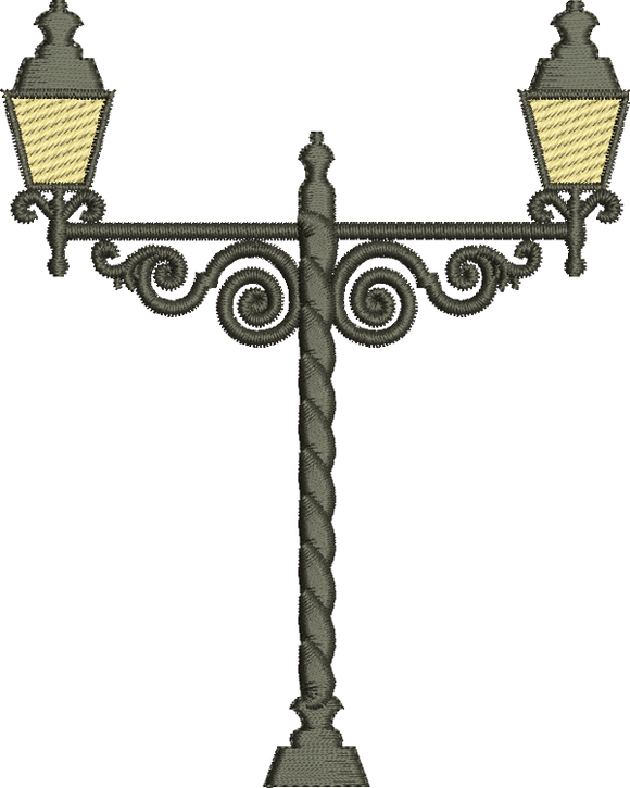 29 - Traditional Homes and Gardens - Wrought Iron Lamp