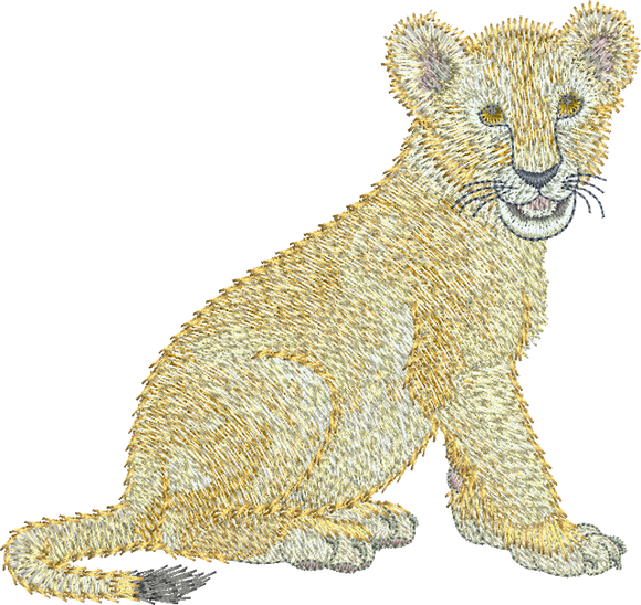 30 - Zoo Babies by Sue Box - Lion Cub Design
