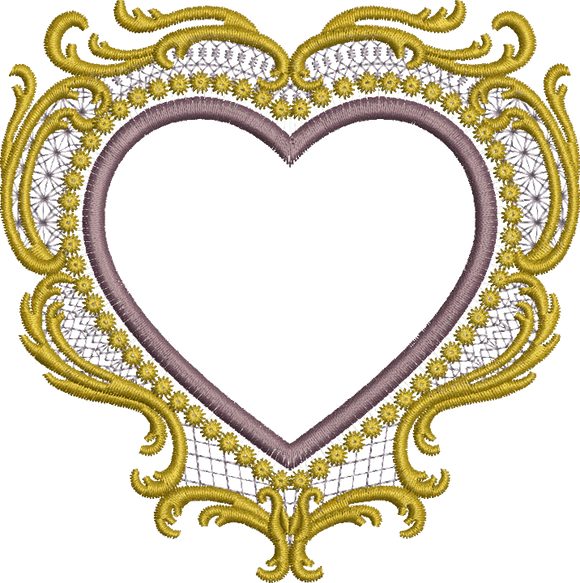 30 - Old Gold Heart