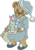 Teddy Bear Fredrick Embroidery Motif - 31 -  Timeless Teddy Bear Treasures - by Sue Box