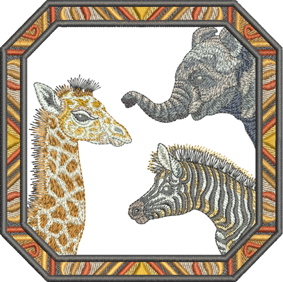 31 - Zoo Babies by Sue Box - Zoo Pals motif