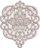 Fleur Motif - Flower Embroidery Design - 36 - Everlasting Embroidery - by Sue Box