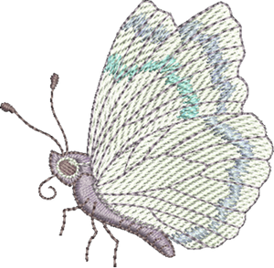 Butterfly B Embroidery Motif - Natures Pals by Sue Box