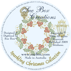 08 - Sparkling Christmas Collection by Sue Box on CD