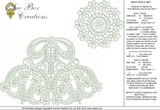 Lace Bow Doily Set Embroidery Motif - 03 - Classic Lace - by Sue Box
