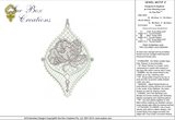 Lace Jewel embroidery Motif 2 - 09 - Classic Lace - by Sue Box