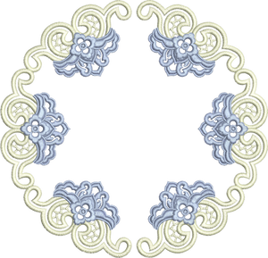 Circle Doily - Two Part