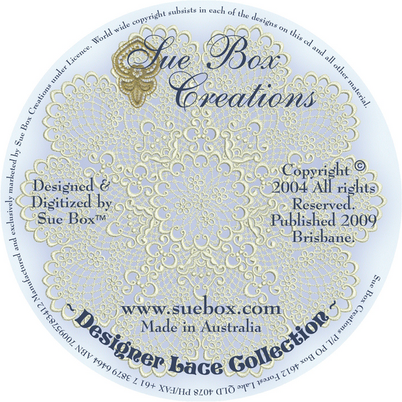 09 - Designer Lace Collection on CD