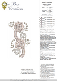 Cutwork Border Embroidery Motif - 18 -  Embroidery Inspirations - by Sue Box