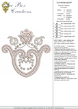 Cutwork Embroidery Motif - 19 -  Embroidery Inspirations - by Sue Box
