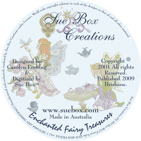 18 - Enchanted Fairy Treasures Collection on CD