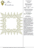 Lace - Lacy Border Doily Embroidery Motif by Sue Box