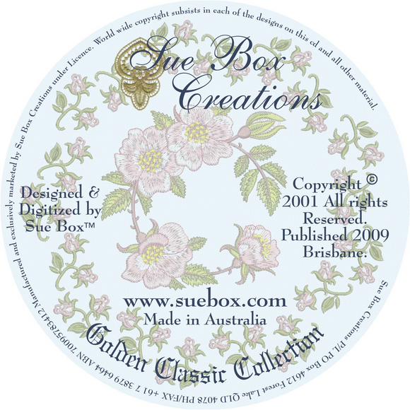 17 - Golden Classic Collection by Sue Box on CD