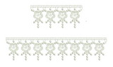 Lace Krystal Borders Narrow Embroidery Motif - 19 - Just Lace - by Sue Box