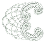 Lace -Tamah Embroidery Motif - 26 - Just Lace - by Sue Box