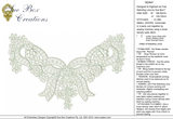 Lace Adah Embroidery Motif - 28 - Just Lace - by Sue Box