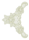 Lace - Abir Embroidery Motif - 29 - Just Lace - by Sue Box