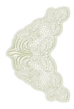 Lace - Adiel Embroidery Motif - 32 - Just Lace - by Sue Box