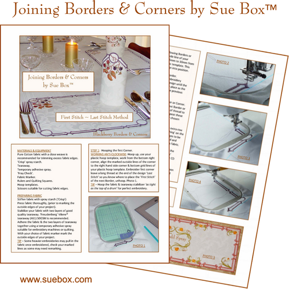 Joining Borders & Corners by Sue Box