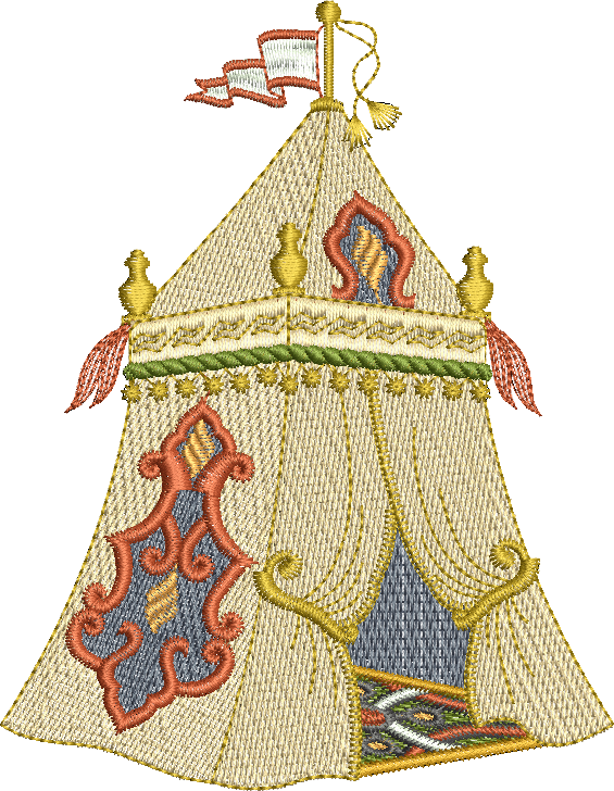 Morocco Embroidery Design set - FULL Multiformatted download - by Sue Box