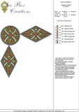 Geometric Corner 2 - Embroidery Motif - 07 - Sue Box Moroccan designs