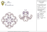Machine Embroidery Motif -03 - Mix N Match Elegance - by Sue Box