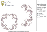 Machine Embroidery Motif -04 - Mix N Match Elegance - by Sue Box