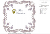 Machine Embroidery Motif -11 - Mix N Match Elegance - by Sue Box